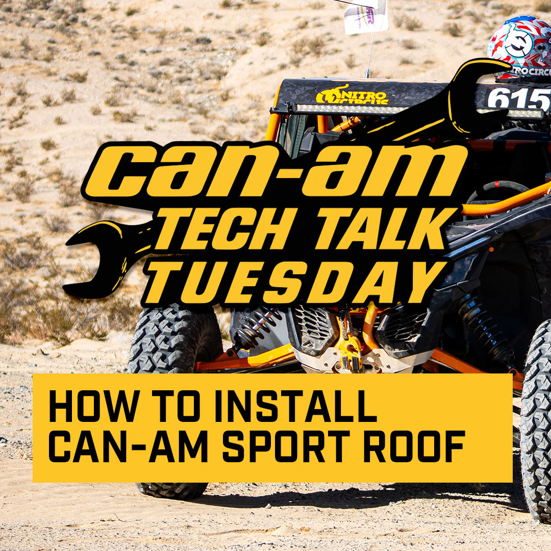 How to install the Can-Am Maverick X3 Sport Roof