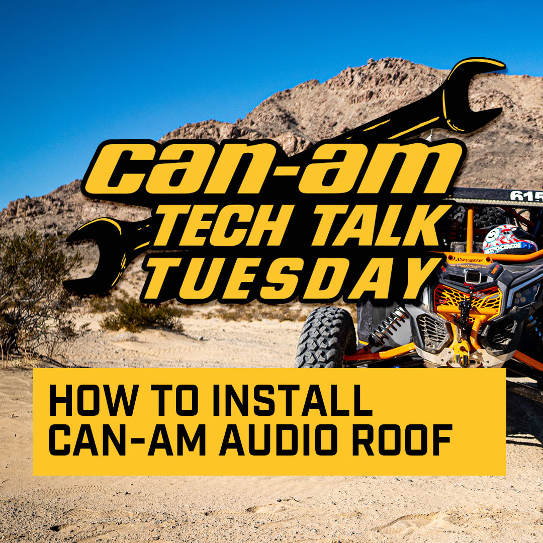 How to install Can-Am Audio Roof for Maverick X3