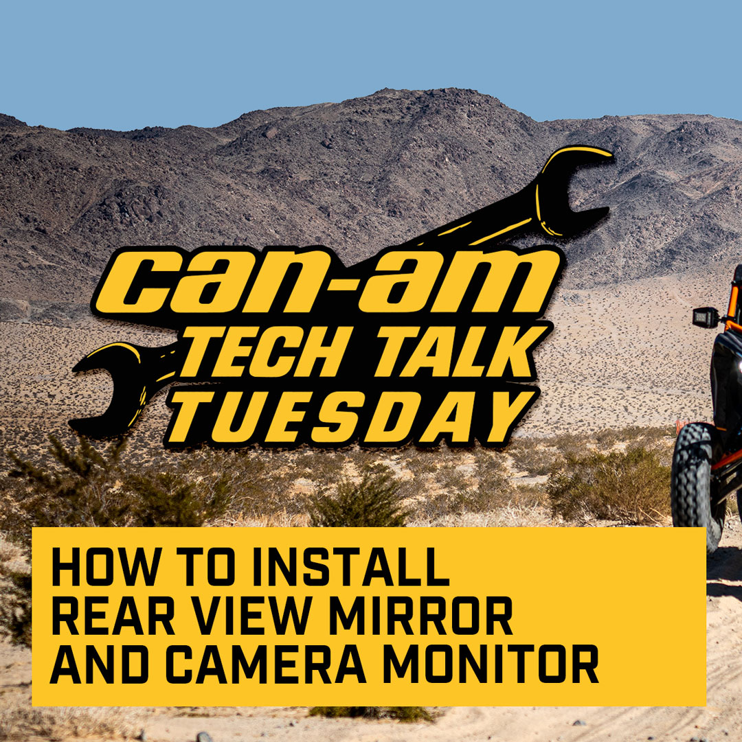 How to install the Rear View Mirror and Camera Monitor