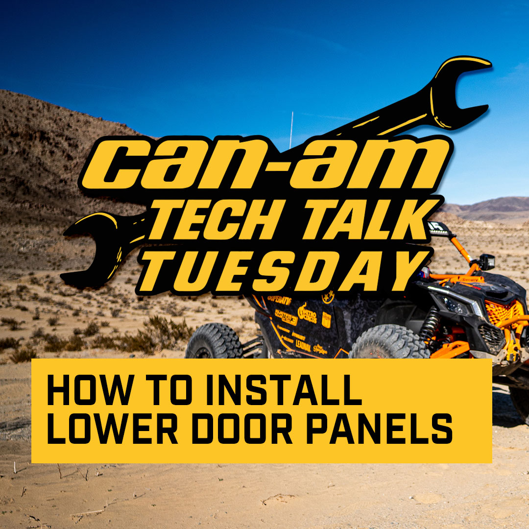 How to install Lower Door Panels for Can-Am Maverick X3