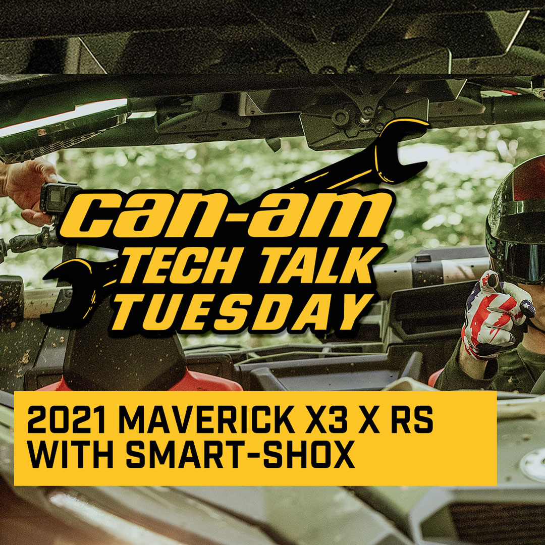 2021 Can-Am Maverick X3 X rs with Smart-Shox