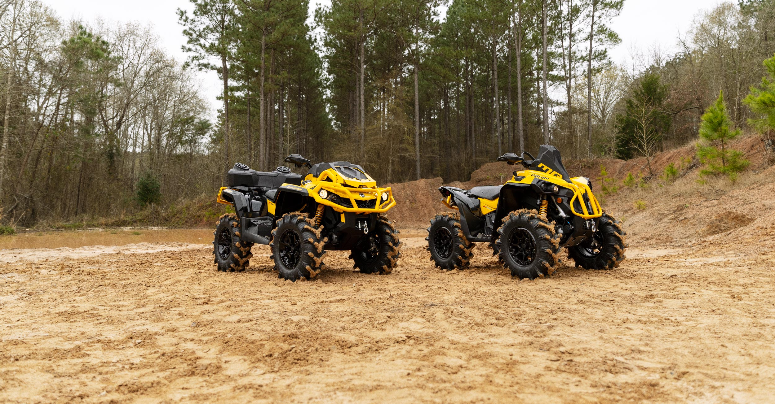 2021 Can-Am X mr ATV voertuig