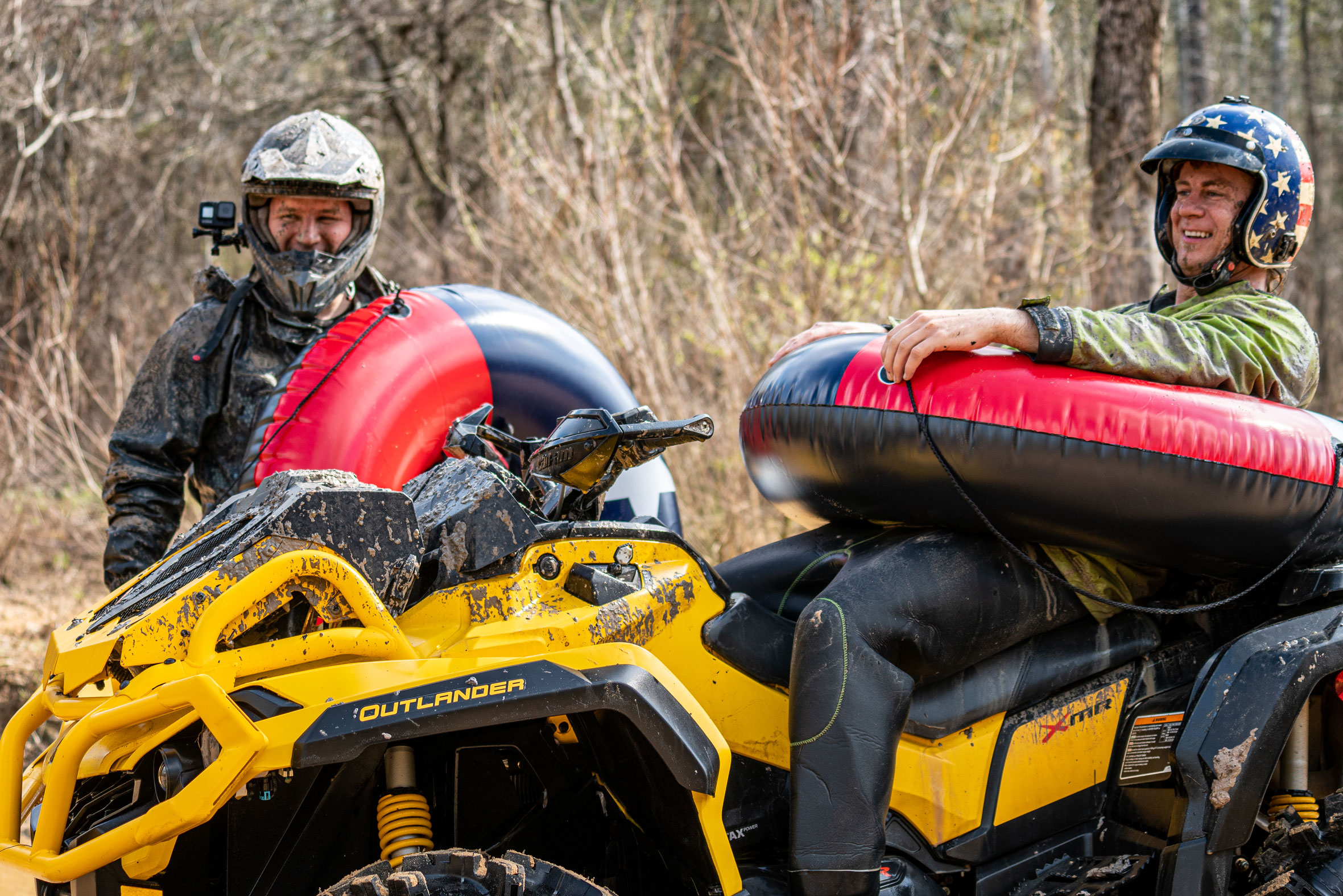 Can-Am Off-Road 2021 X mr ATV with Dustin Jones