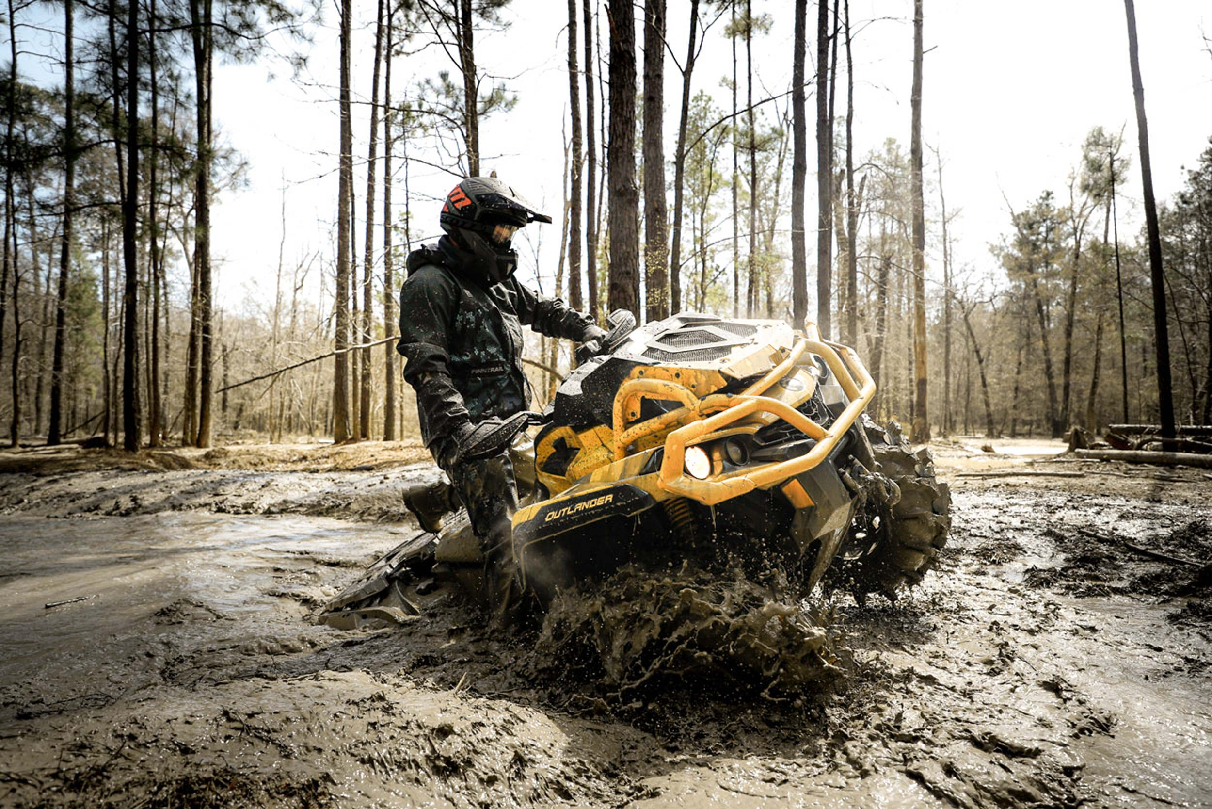 Can-Am ATV X mr Outlander Off-Road Vehicle