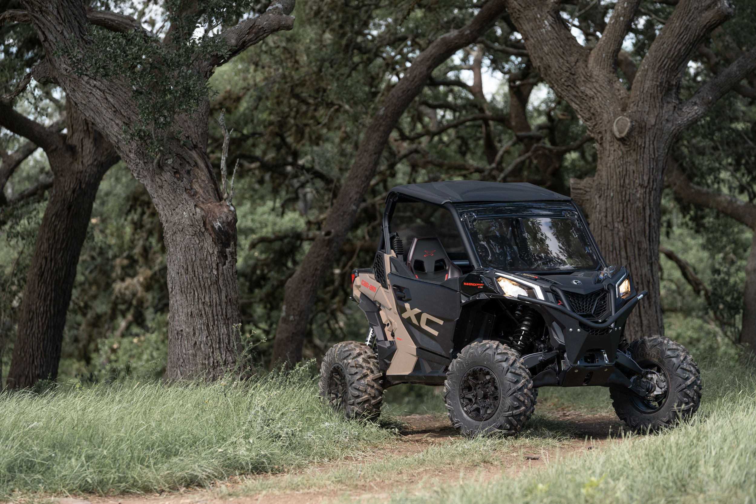 Can-Am Off-Road Trail vehicle lineup