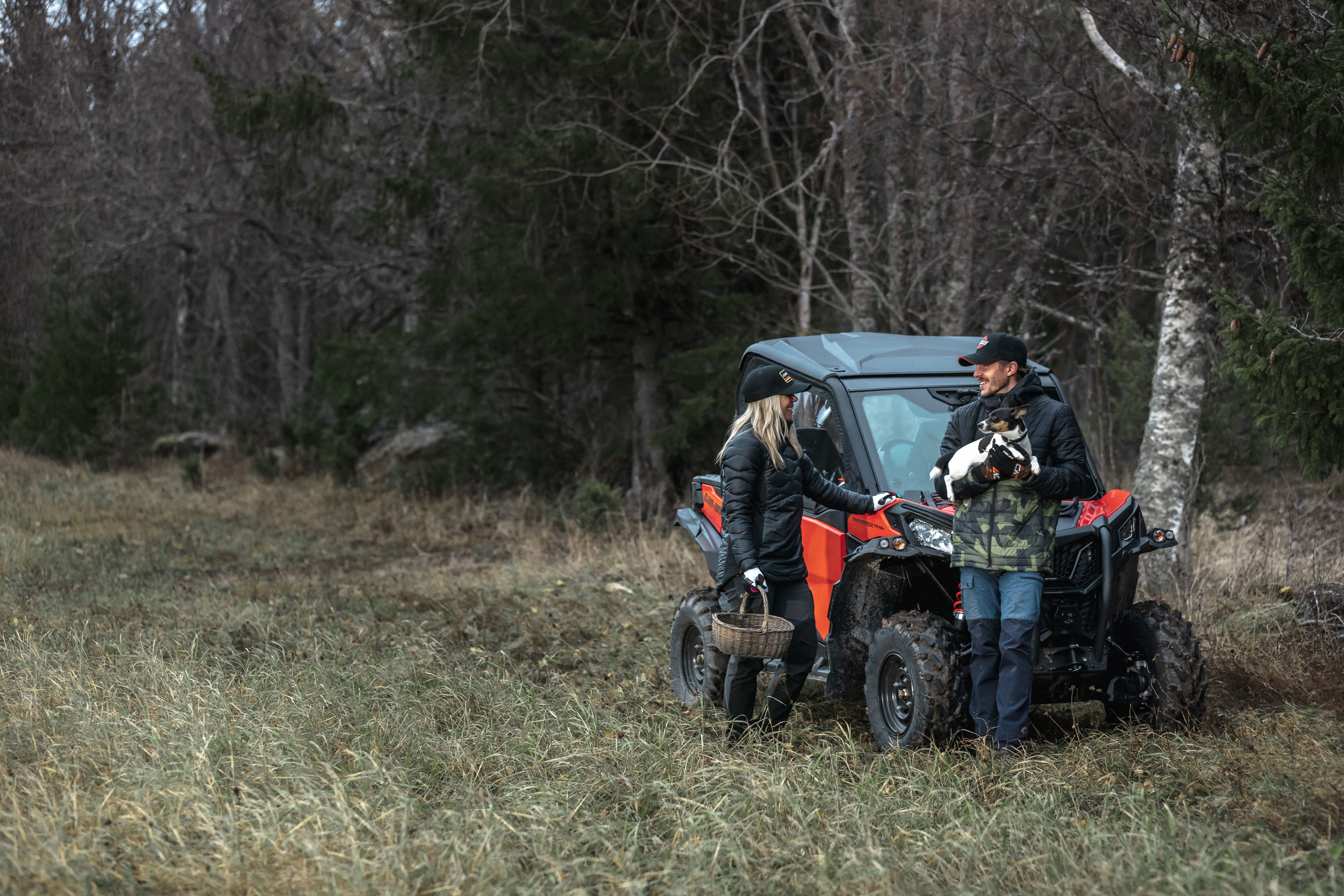 Can-Am Maverick Trail equipment and accessories