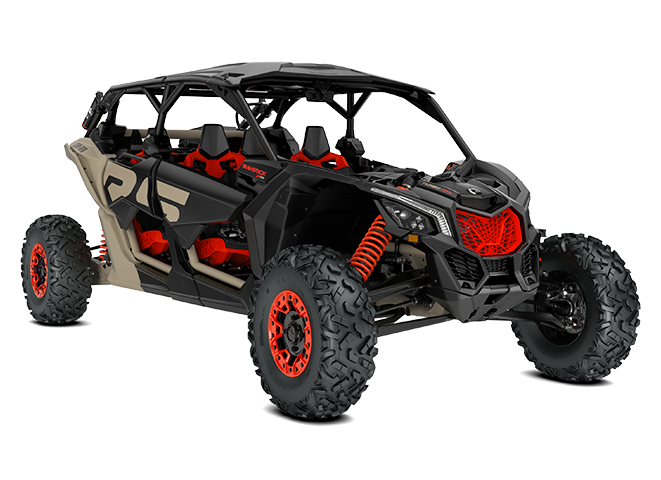 Maverick X3 MAX X RS Turbo RR con Smart-Shox