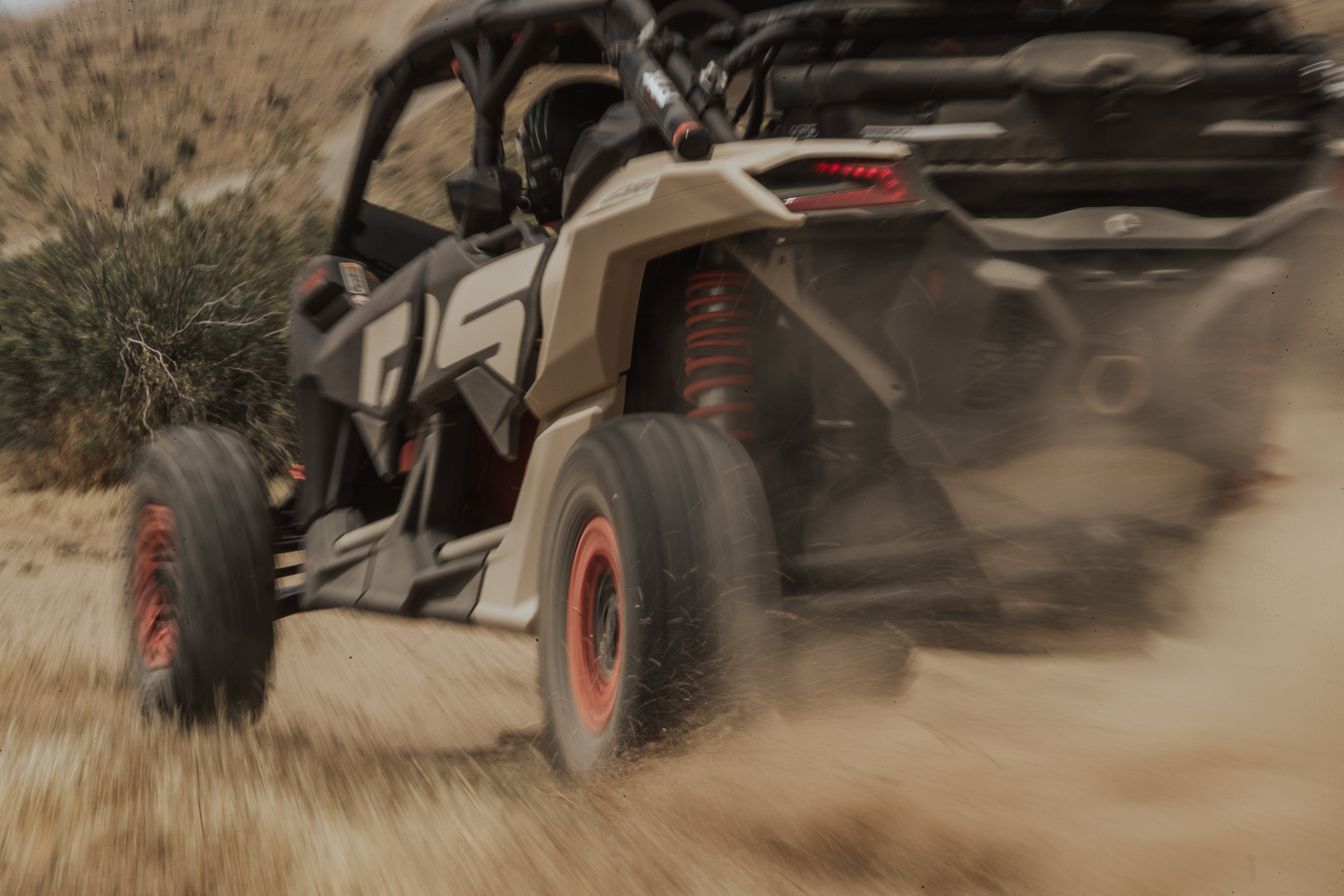 Can-Am Maverick X rs Semi Active Suspension