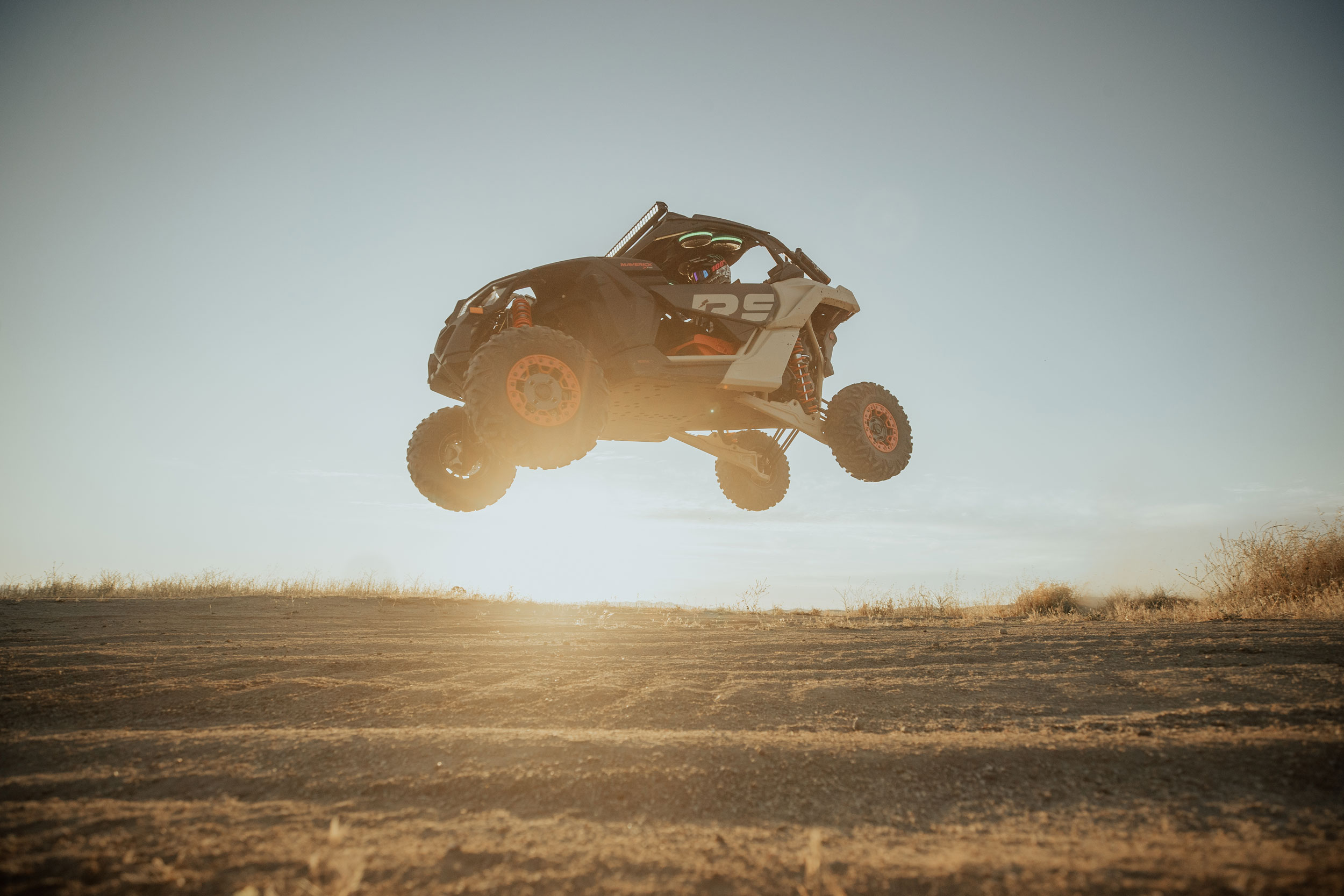 Can-Am Off-Road Semi-Active Suspension Technology Automatic adjustments
