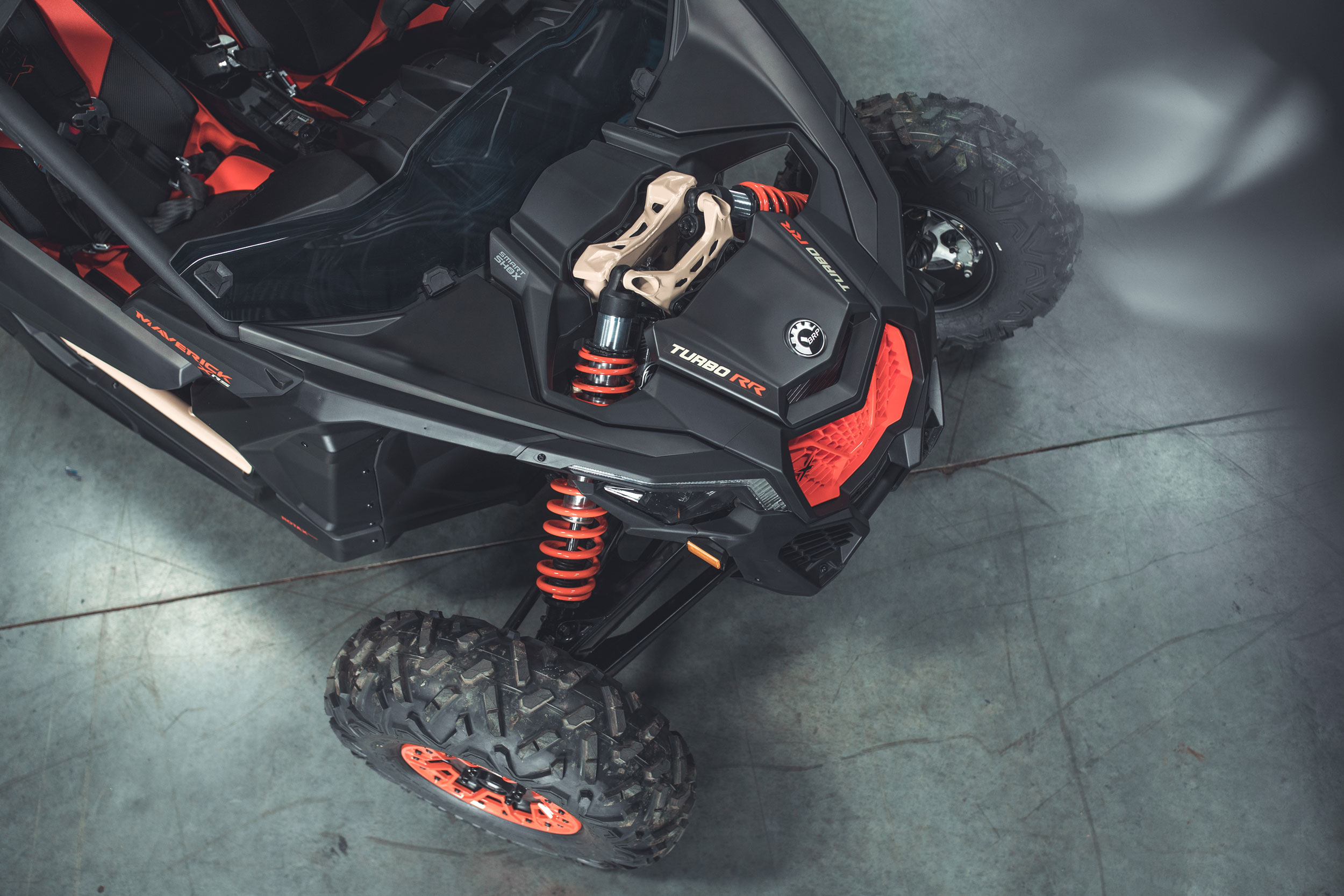 Technologie de suspension semi-active tout-terrain Can-Am