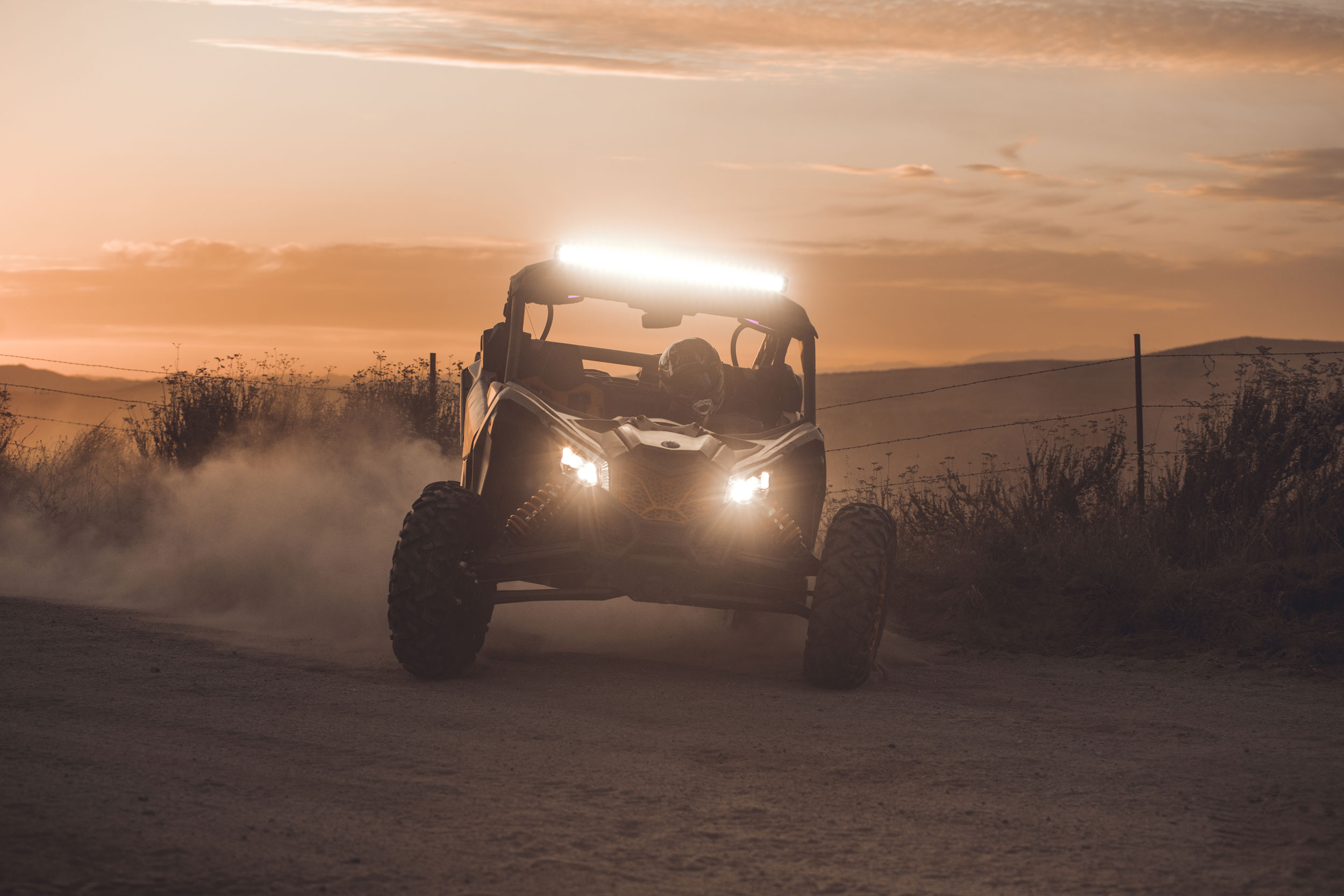Can-Am Off-Road Semi-Active Suspension Technology Stability