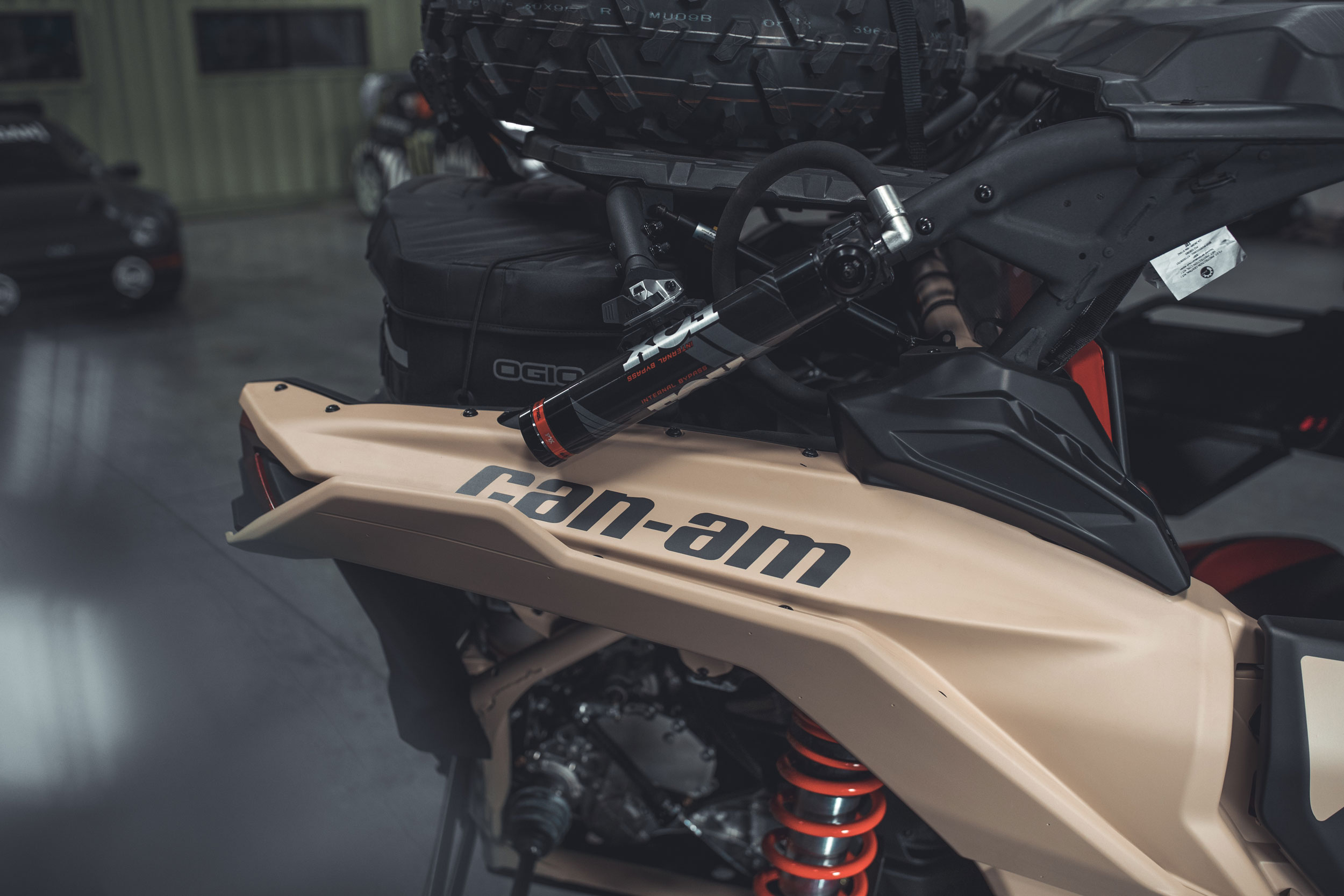 Can-Am Off-Road Semi-Active Suspension Technology Comfort