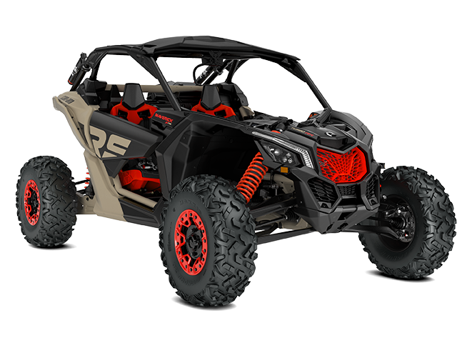 Maverick X rs TURBO RR with Smart-Shox