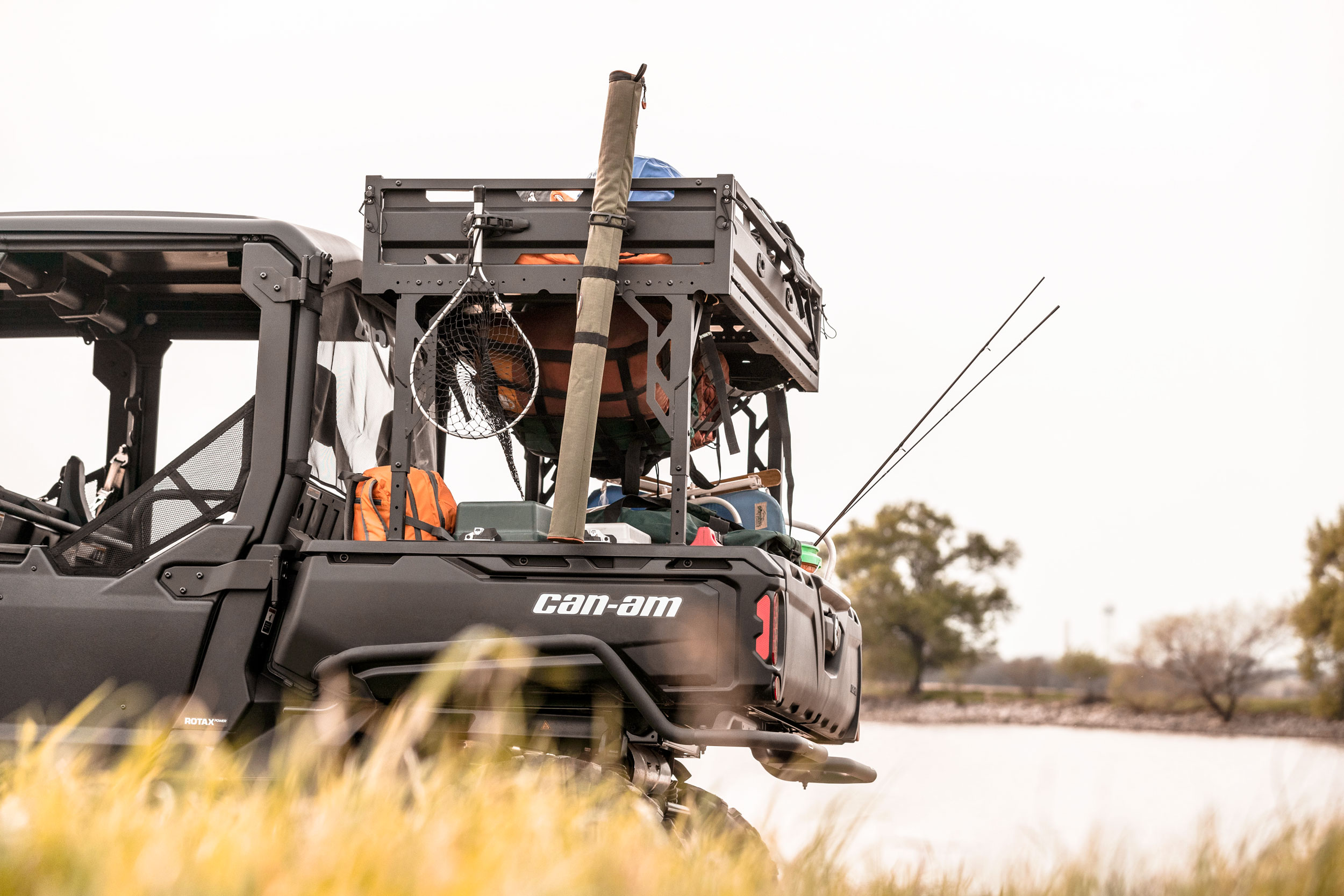 Can-Am Defender Storage and payload working