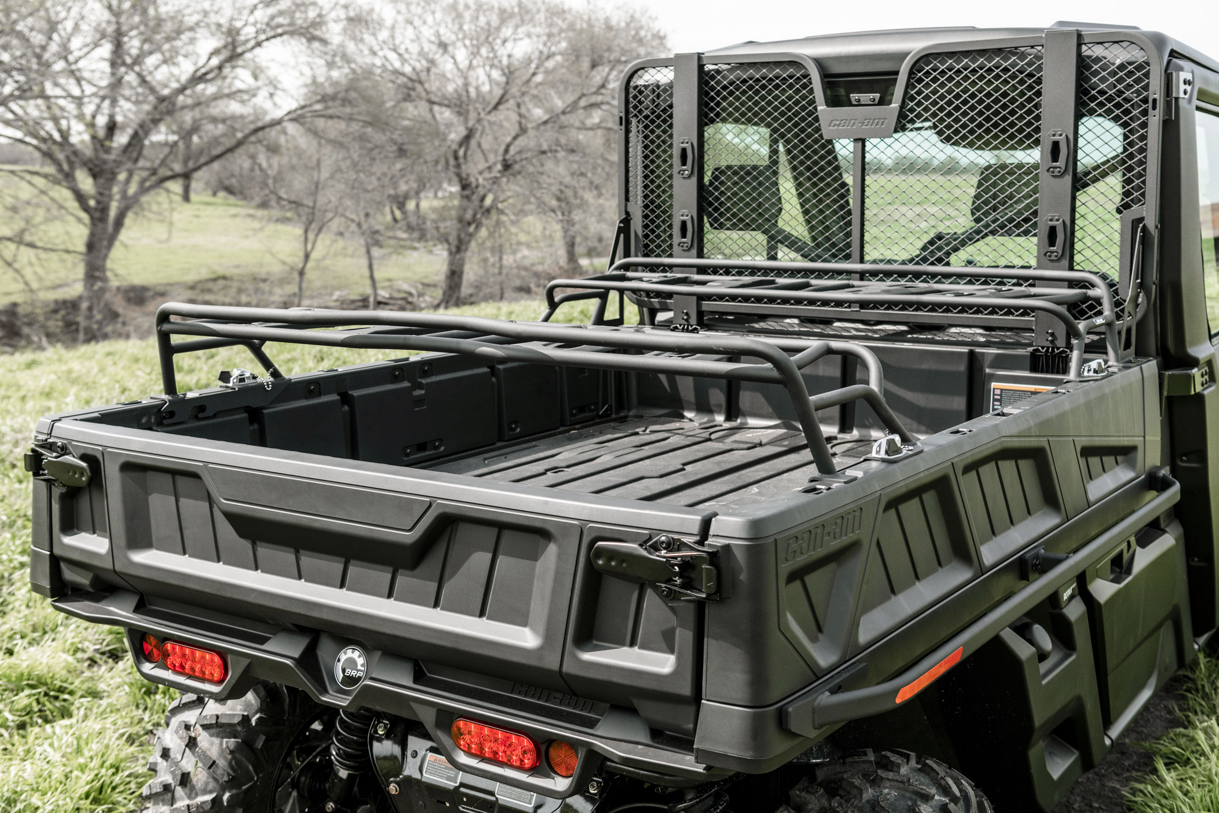 Can-Am Defender side-by-side cargo rack