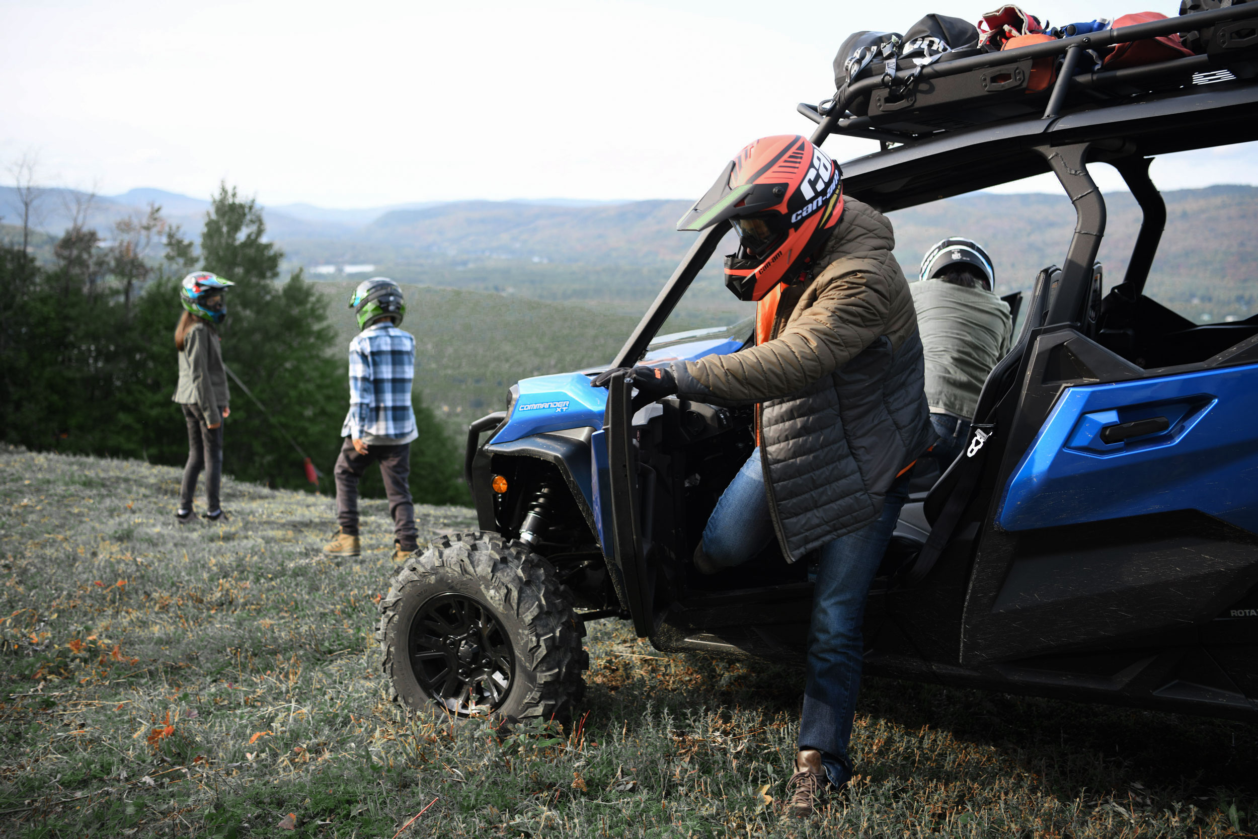 Choosing the best ATV or SxS/UTV for families with kids