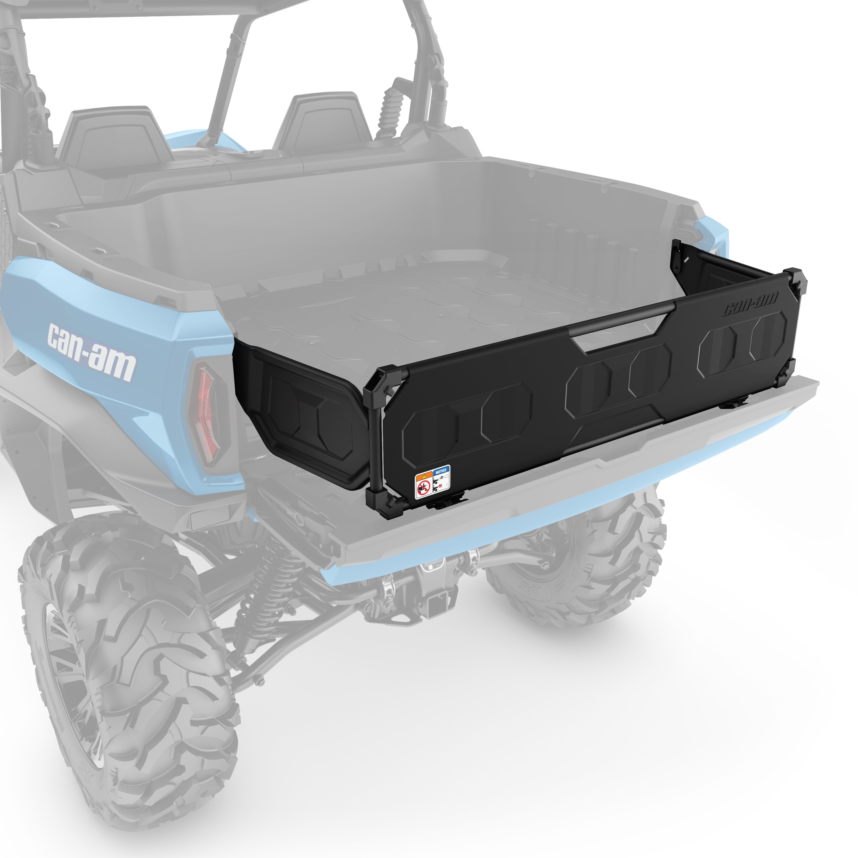 Integrated Tailgate Extension/Divider