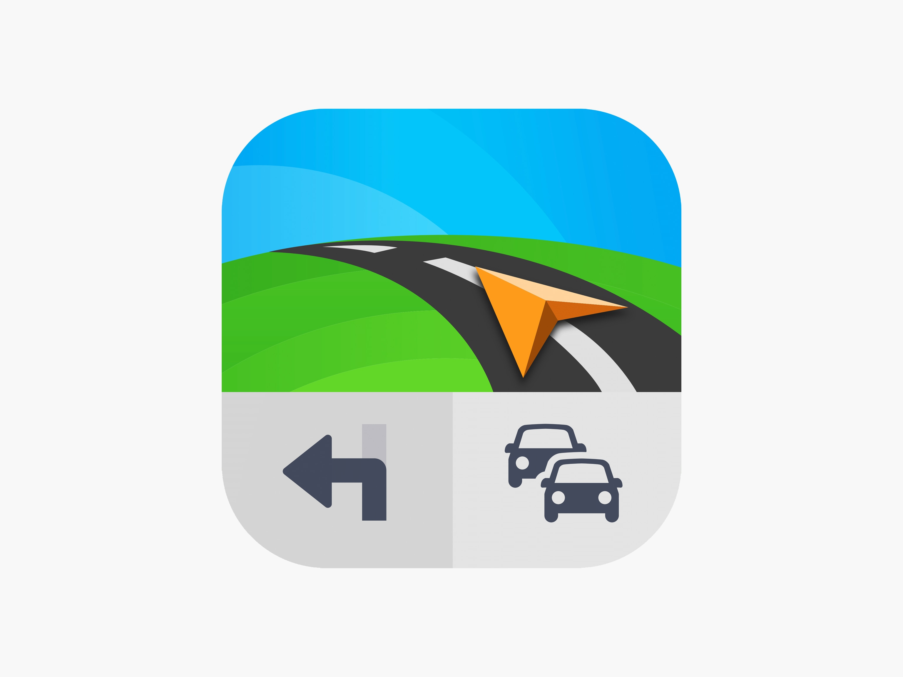 Logo dell'app Sygic Car Navigation