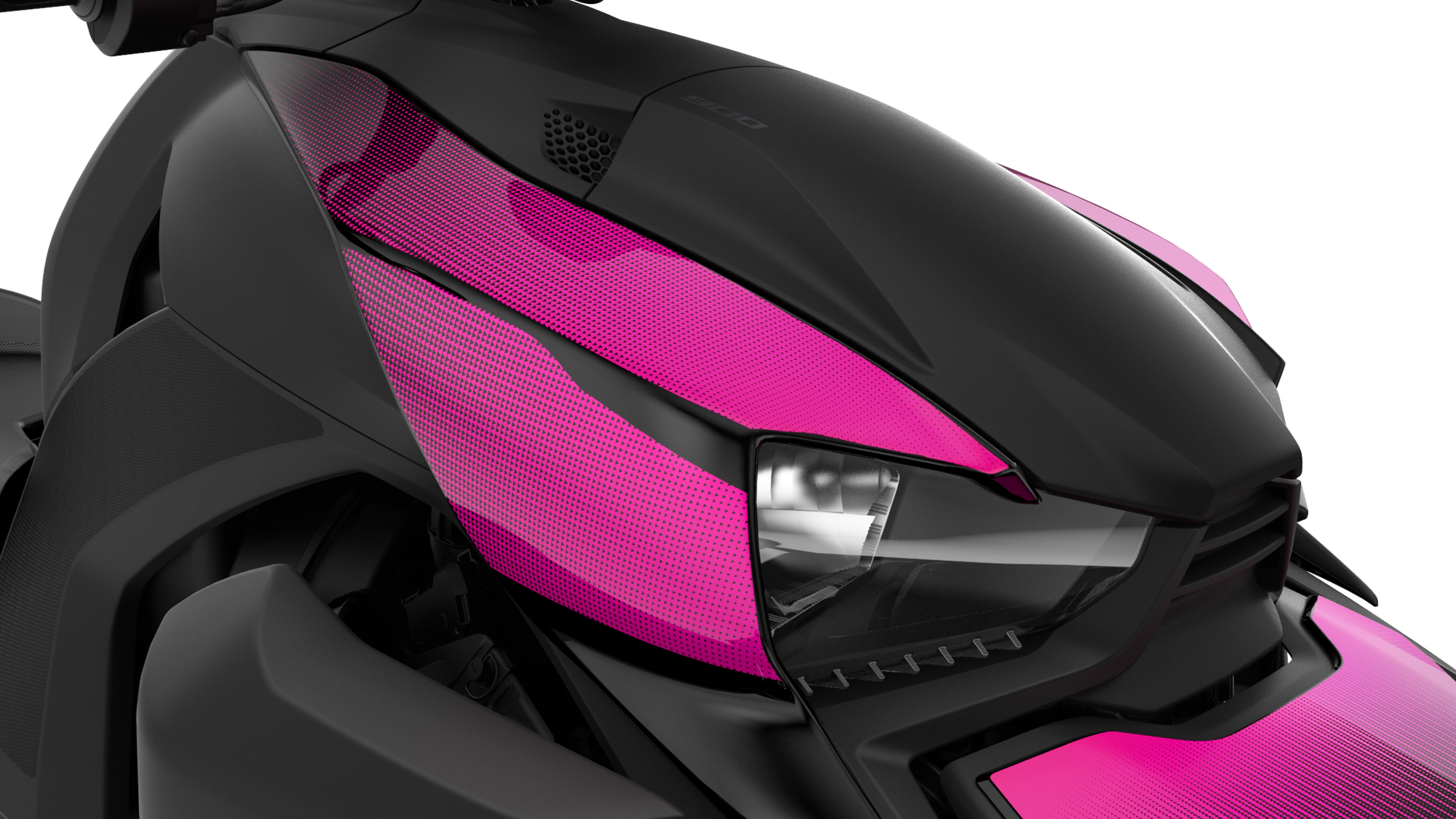 Can-Am Ryker-panel i Pink Punk