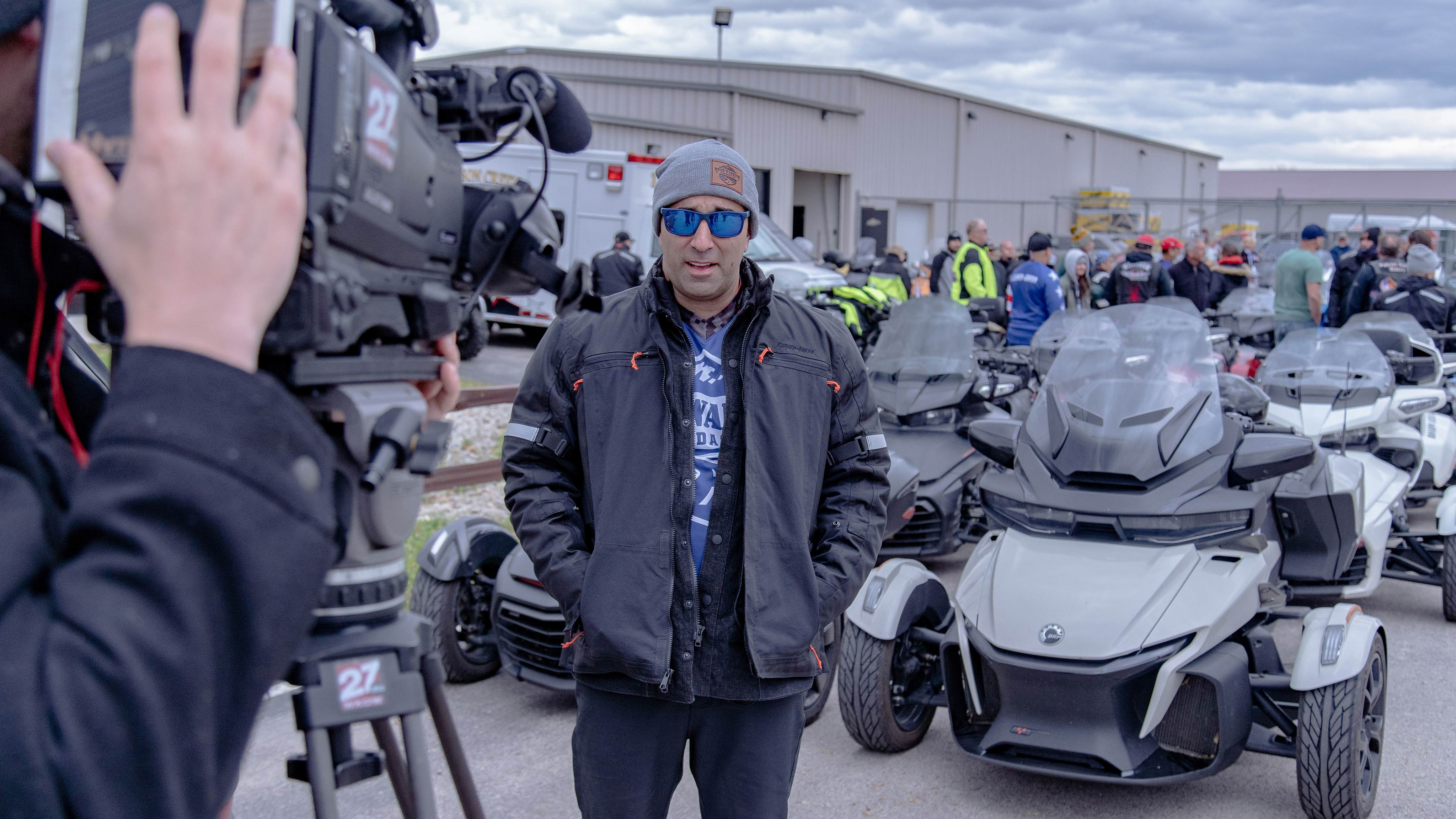 Can-Am On-Road's 2019 Road Warrior Ride - Behind the scenes