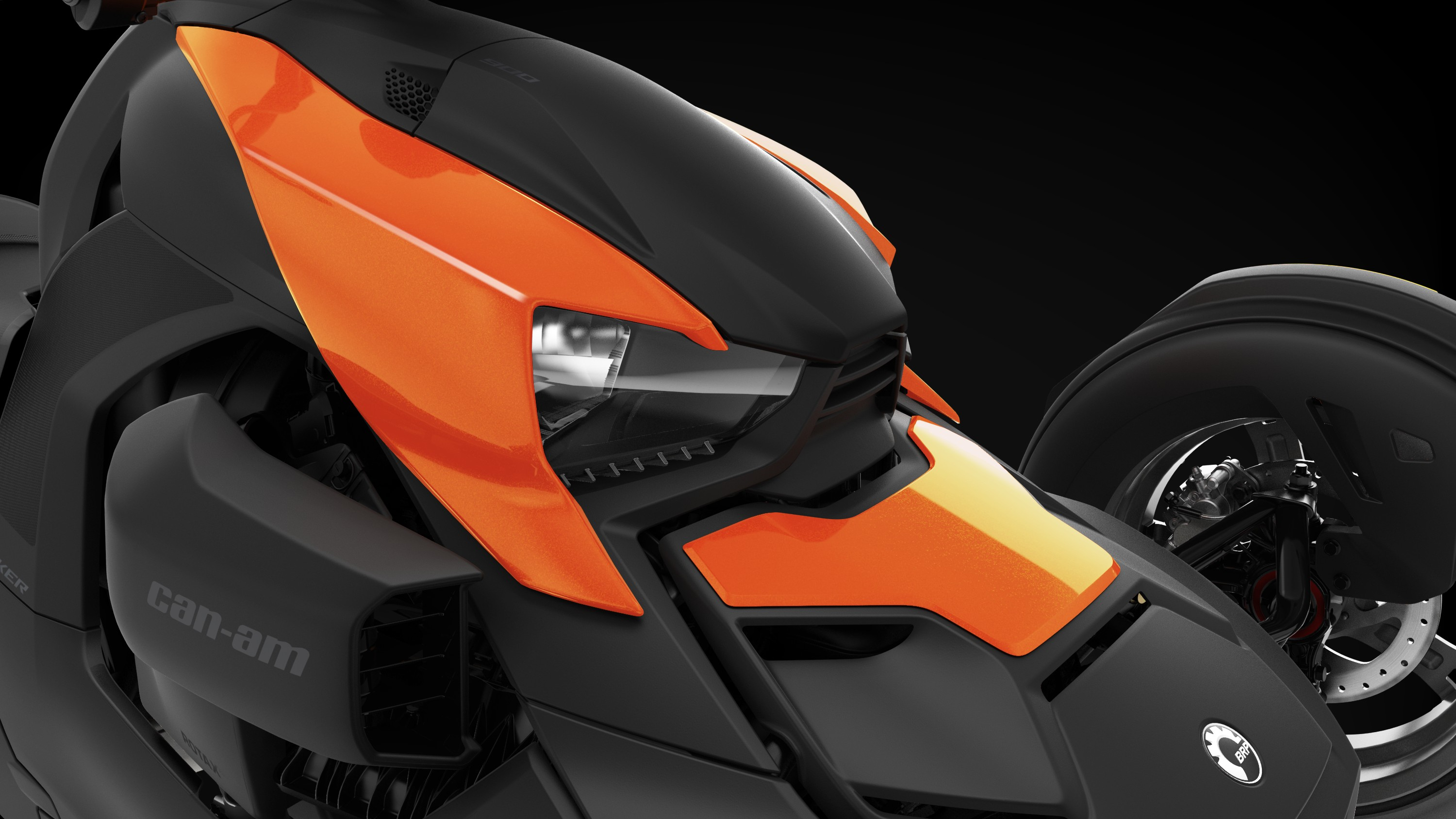 Can-Am Ryker Orange Blaze exclusive panels