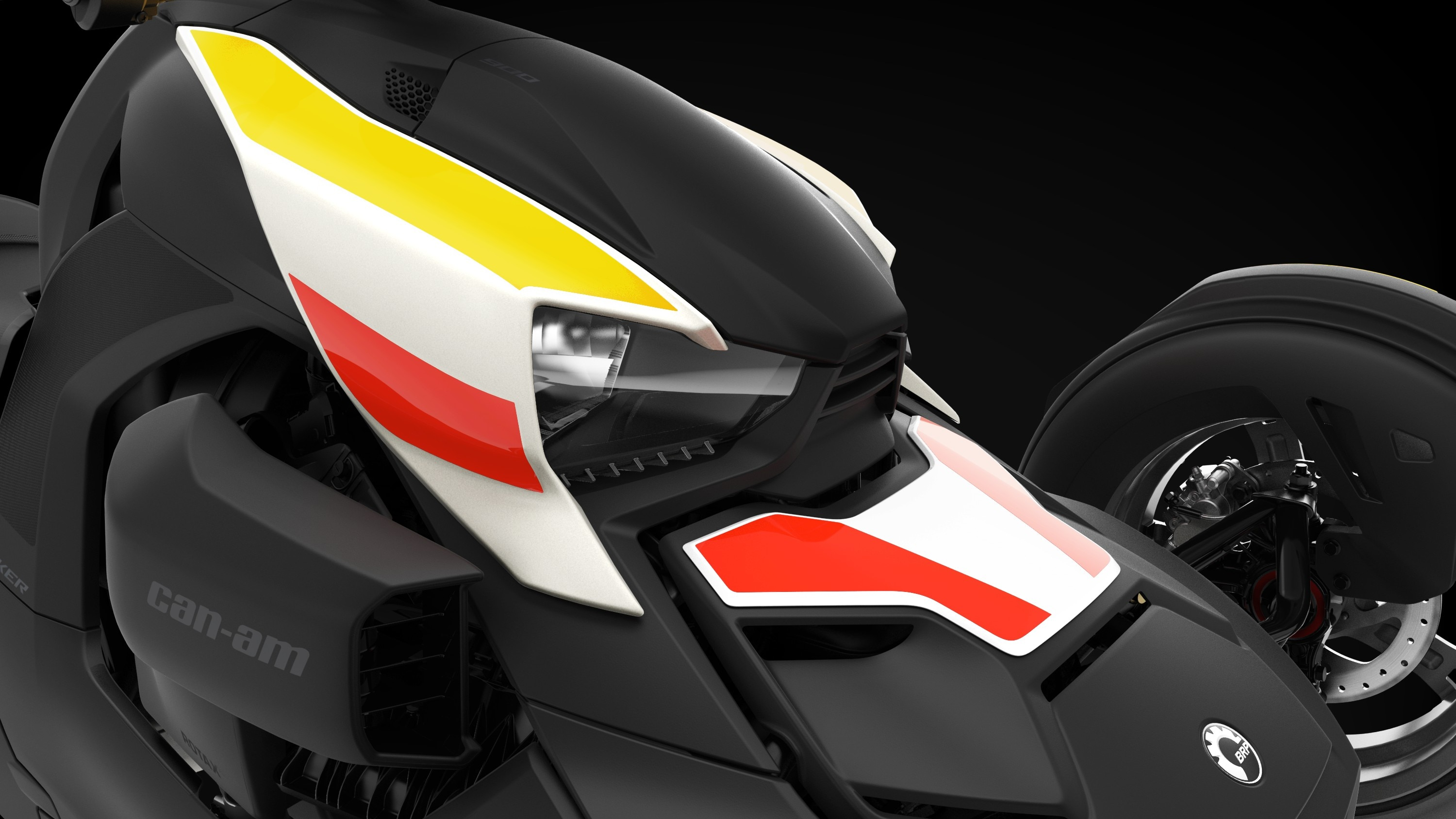 Can-Am Ryker Heritage White II exclusive panels