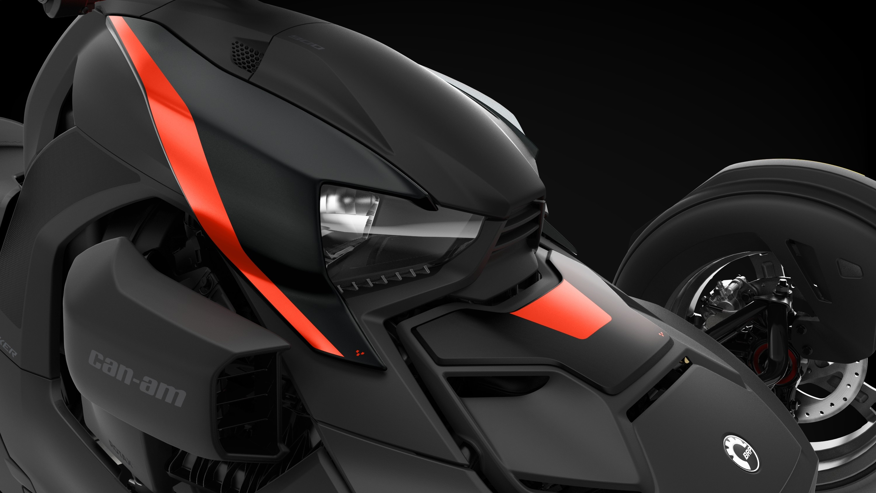 Can-Am Ryker Ruby Black exclusive panels