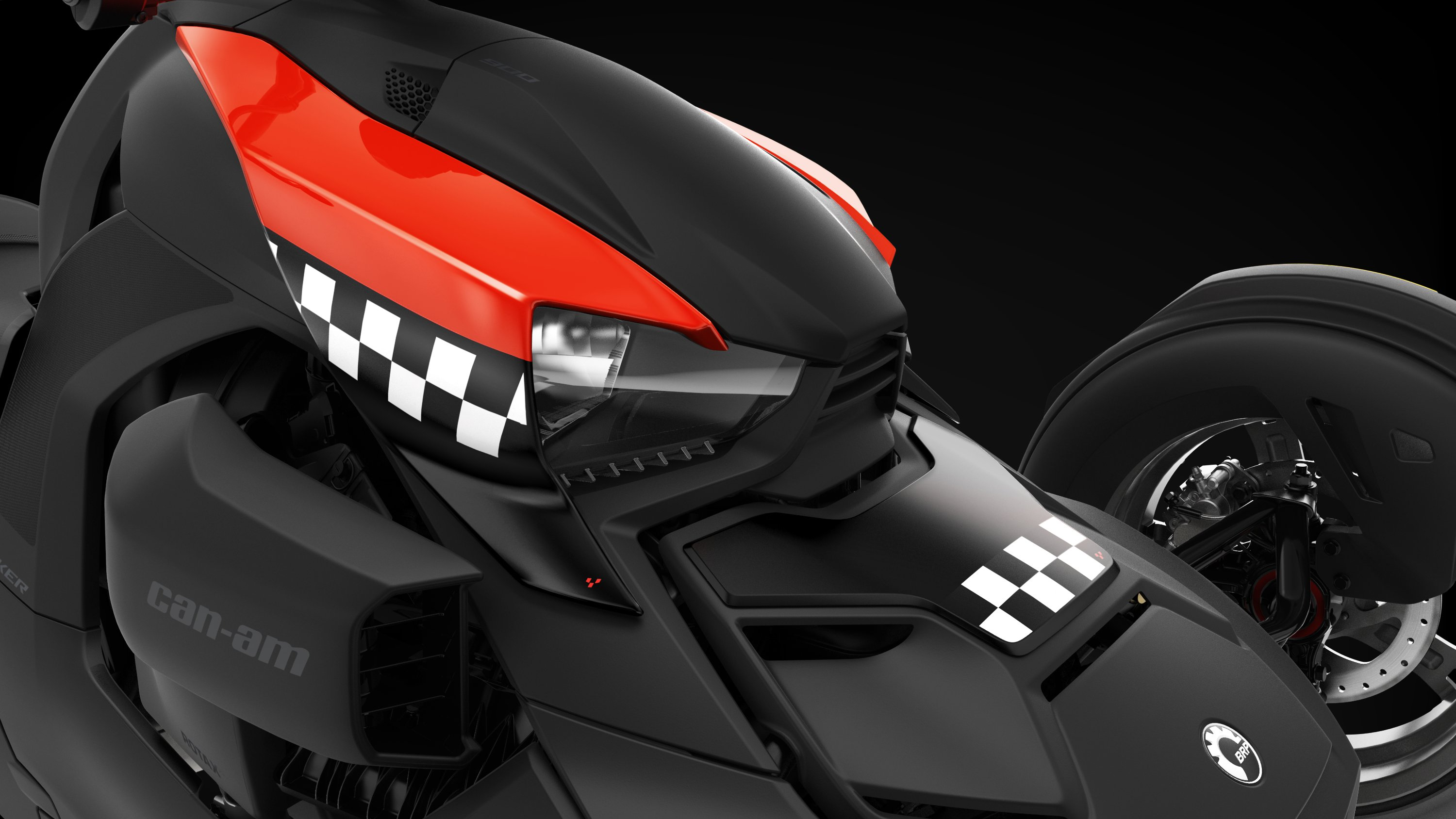 Can-Am Ryker Racer Red exclusive panels