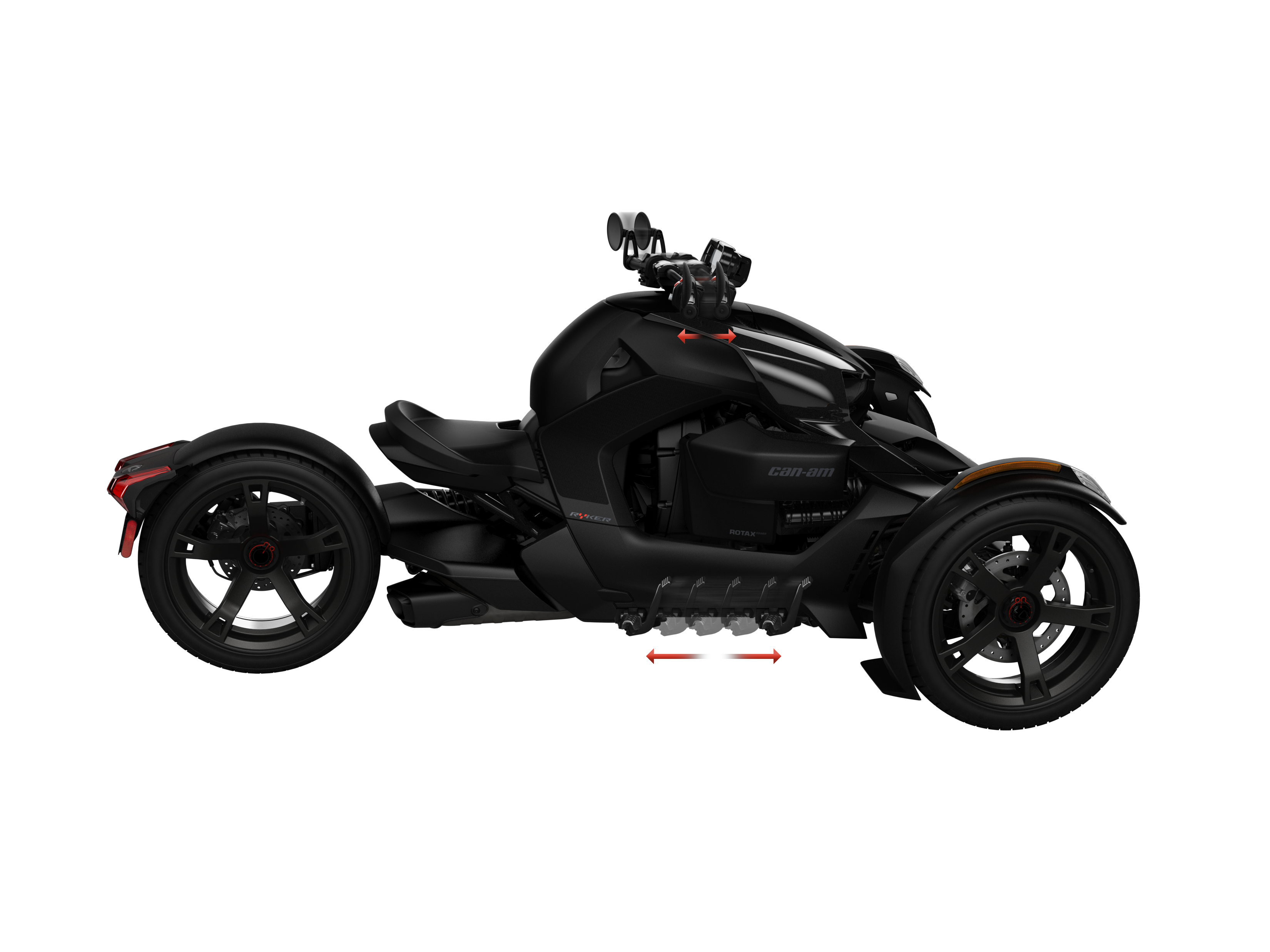 A Can-Am Ryker equipped with a UFIT system