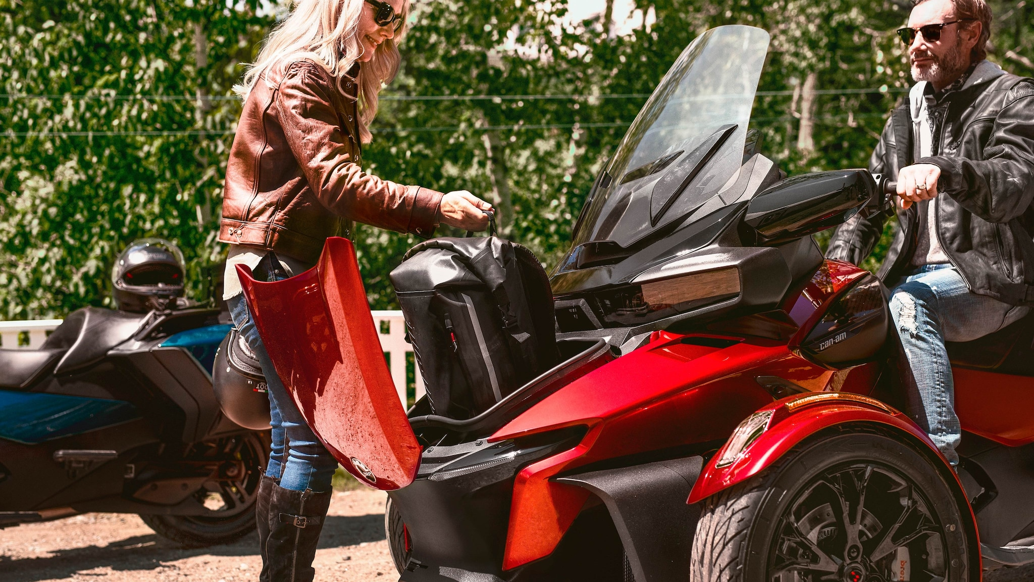 2021 Can Am Spyder Rt 3 Wheel Motorcycle Models Can Am On Road