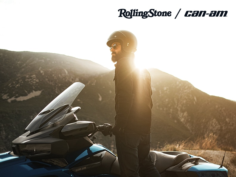 Rolling Stone and Can-Am partnership
