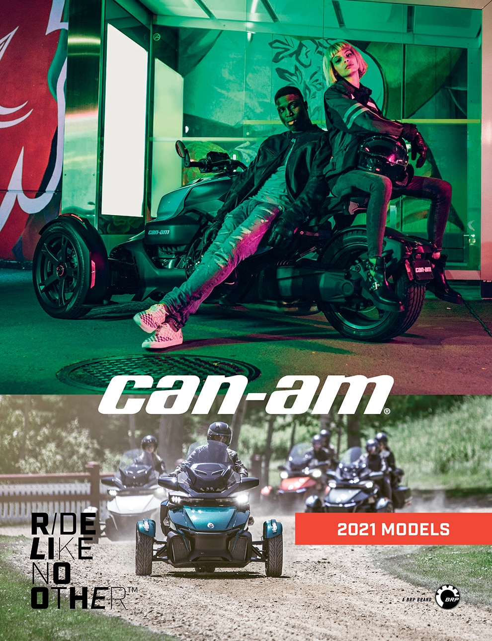 Can-Am On-Road 2021 Catalog
