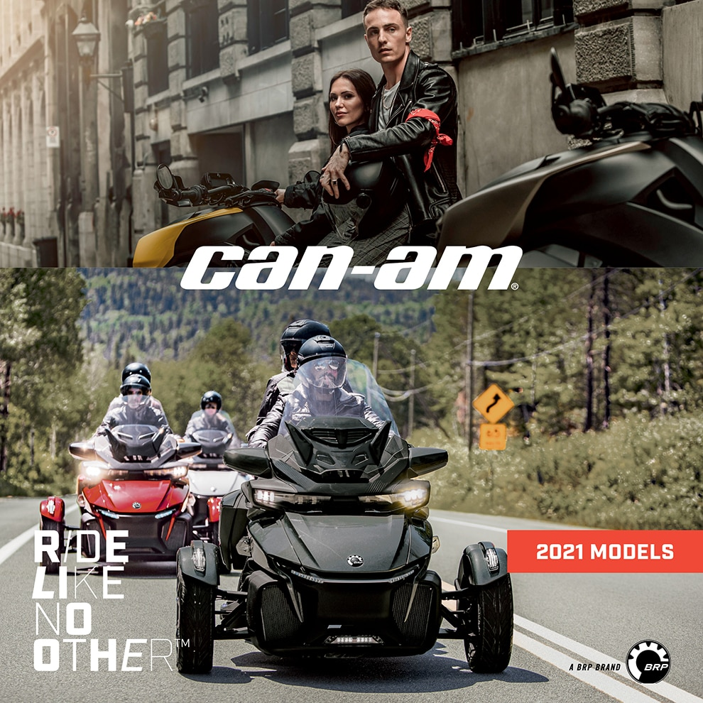 Can-Am On-Road 2021 Mini Brochure