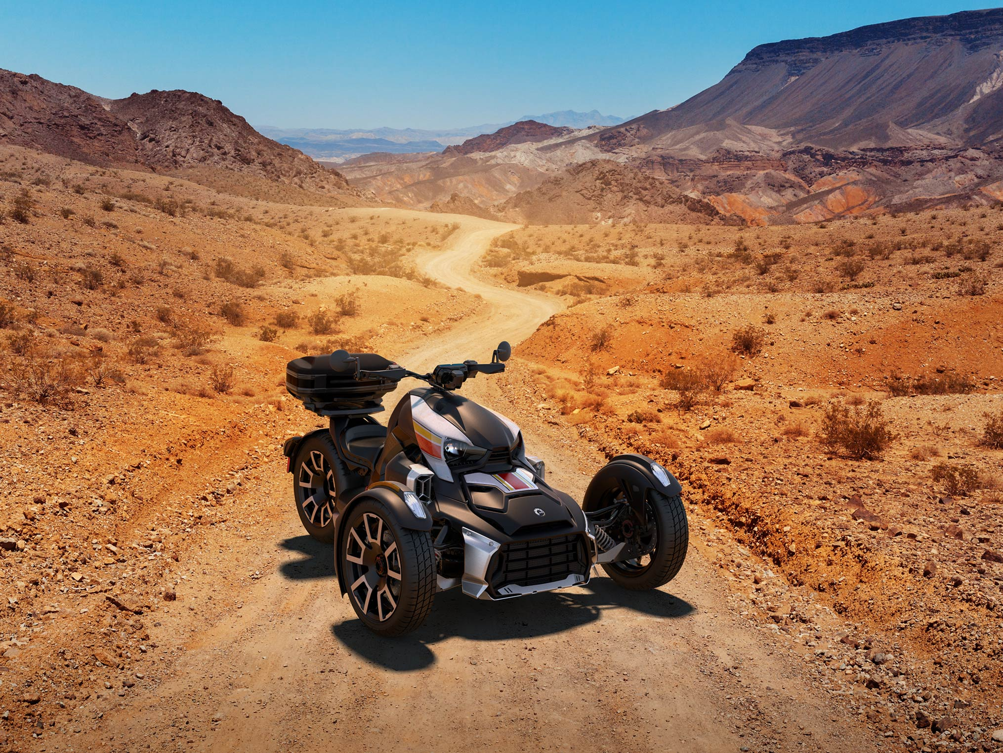 Can-Am Ryker in the desert