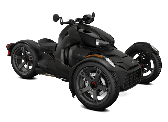 Black Can-Am Ryker 3D model