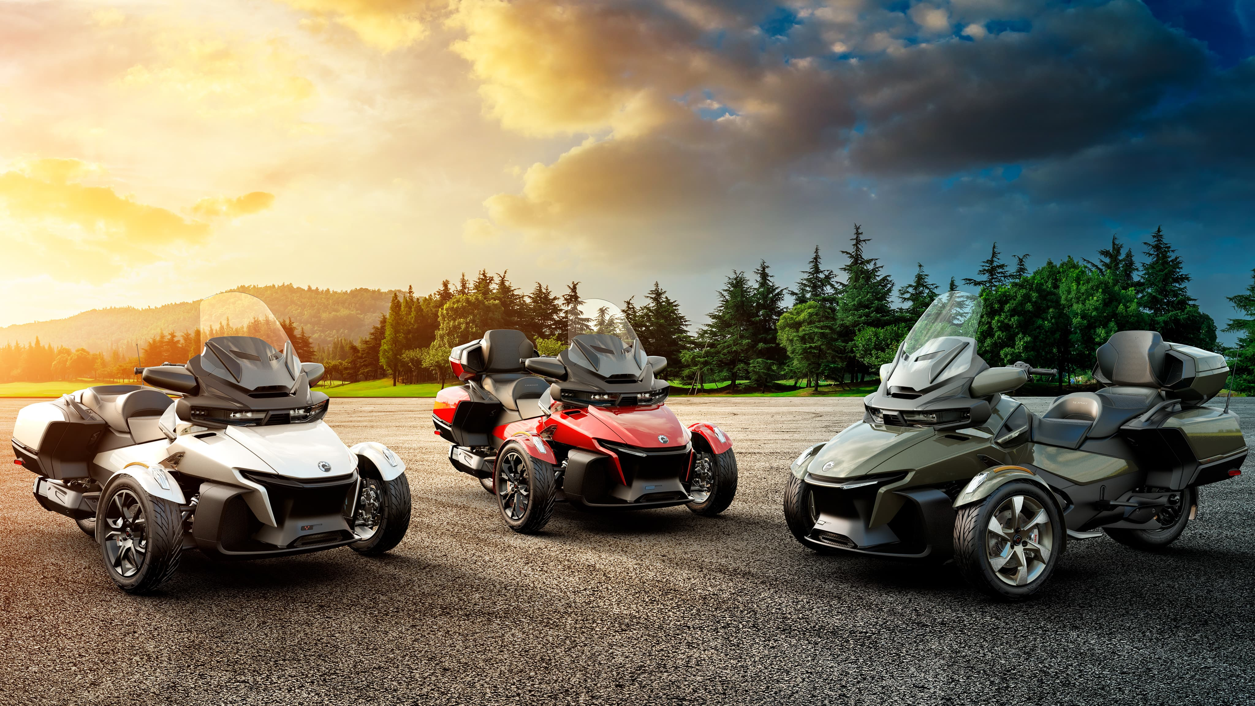 2021 Can-Am Spyder RT familie