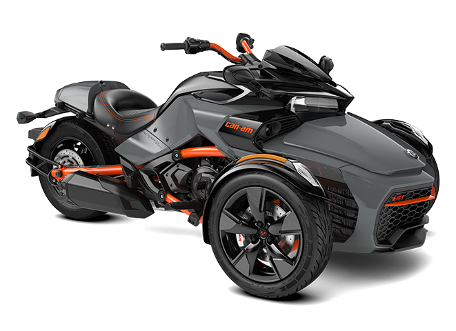 Gravity Grey Can-Am Spyder F3-S Special Series 3D model