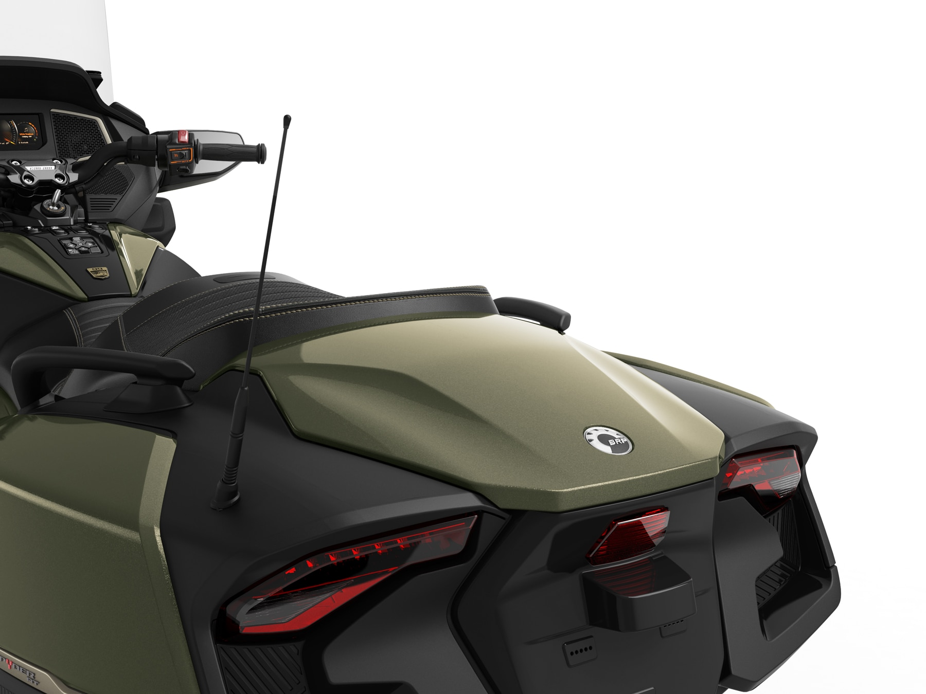 Can-Am Spyder RT Sea-to-Sky rear panel